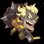Cana Overwatch Junkrat Cute - SPRAY