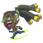 Cana Overwatch Lucio Cute - SPRAY