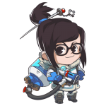 Cana Overwatch Mei Cute - SPRAY