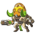 Cana Overwatch Orisa Cute - SPRAY