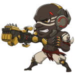 Cana Overwatch Doomfist Cute - SPRAY