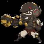Cana Overwatch Doomfist Cute - SPRAY