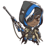 Cana Overwatch Ana Cute - SPRAY
