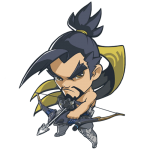 Cana Overwatch Hanzo Cute - SPRAY