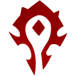 Cana World of Warcraft Horde - LOGO