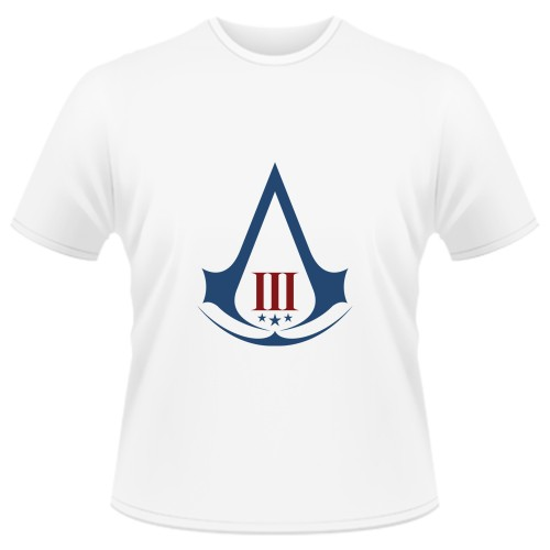 Tricou Assassins Creed 3 - LOGO