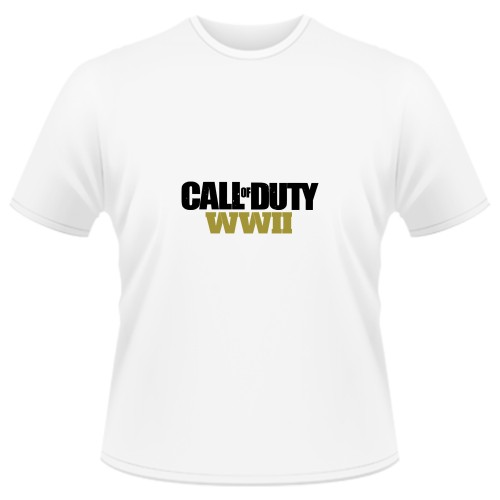 Tricou Call of Duty WW2 - LOGO