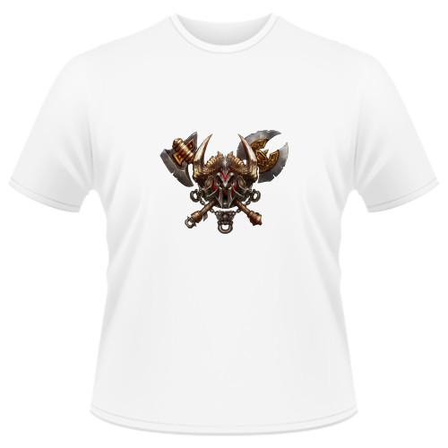 Tricou Diablo 3 Barbarian - LOGO