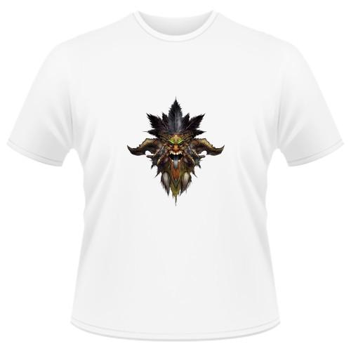 Tricou Diablo 3 Witch Doctor - LOGO