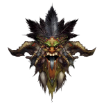 Tricou Diablo 3 Witch Doctor - LOGO