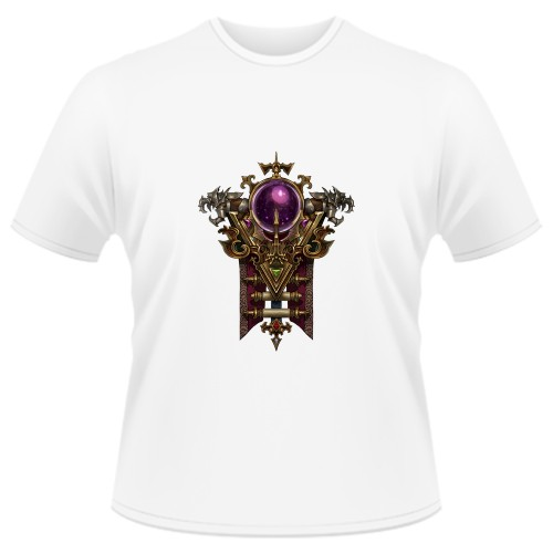 Tricou Diablo 3 Wizard - LOGO
