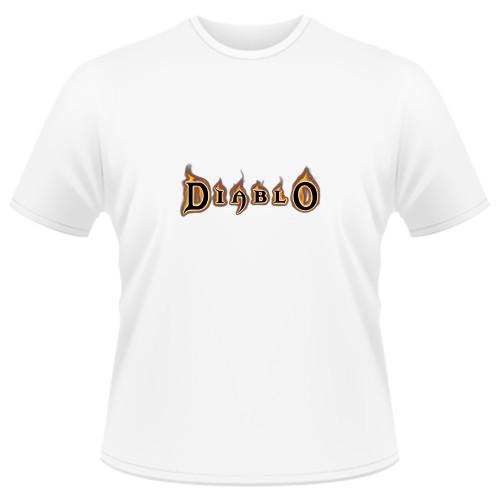 Tricou Diablo - LOGO