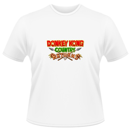 Tricou Donkey Kong Country Returns - LOGO