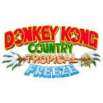 Tricou Donkey Kong Country Tropical Freeze - LOGO