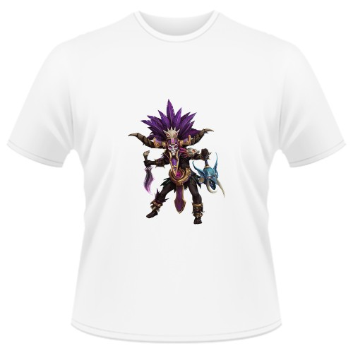 Tricou Heroes of the Storm - Nazeebo