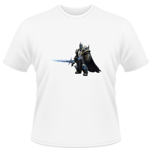 Tricou Heroes of the Storm - Arthas