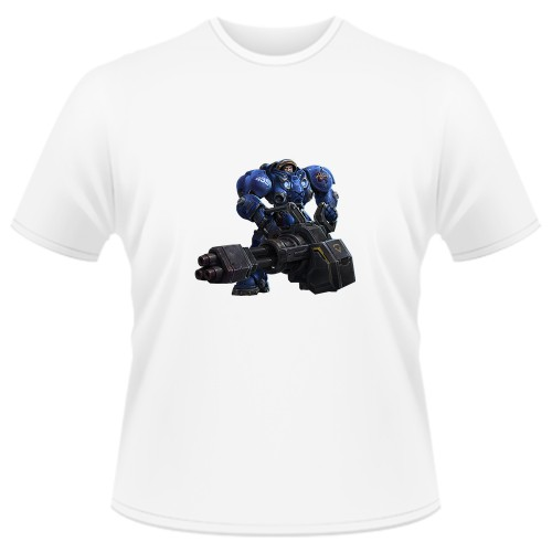 Tricou Heroes of the Storm - Tychus