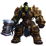 Tricou Heroes of the Storm - Thrall