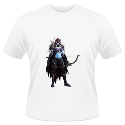 Tricou Heroes of the Storm - Sylvanas