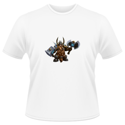 Tricou Heroes of the Storm - Muradin