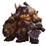 Tricou Heroes of the Storm - Rexxar