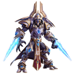 Tricou Heroes of the Storm - Artanis