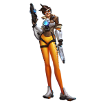 Tricou Heroes of the Storm - Tracer