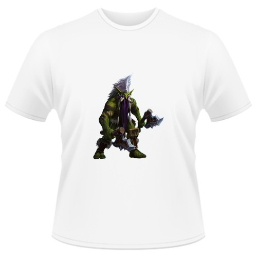Tricou Heroes of the Storm - Zuljin