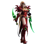 Tricou Heroes of the Storm - Valeera