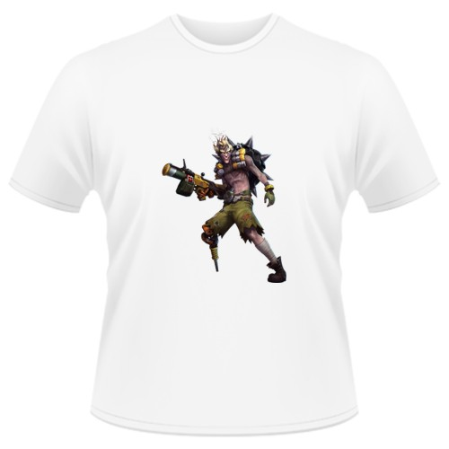 Tricou Heroes of the Storm - Junkrat