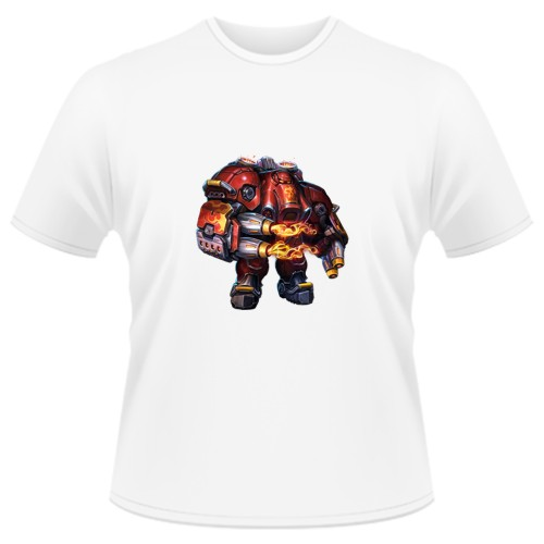 Tricou Heroes of the Storm - Blaze