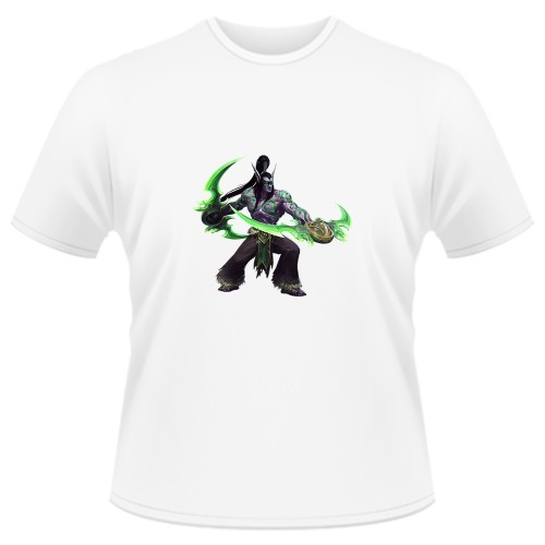 Tricou Heroes of the Storm - Illidan