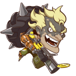 Tricou Overwatch Junkrat Cute - SPRAY