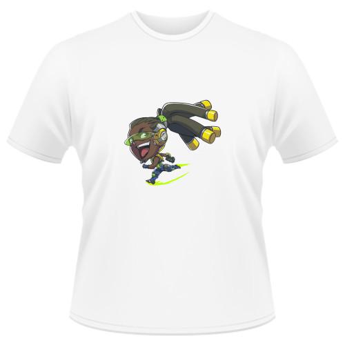Tricou Overwatch Lucio Cute - SPRAY