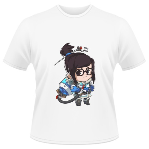 Tricou Overwatch Mei Cute - SPRAY