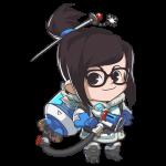 Tricou Overwatch Mei Cute - SPRAY