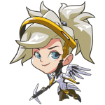Tricou Overwatch Mercy Cute - SPRAY