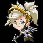 Tricou Overwatch Mercy Cute - SPRAY