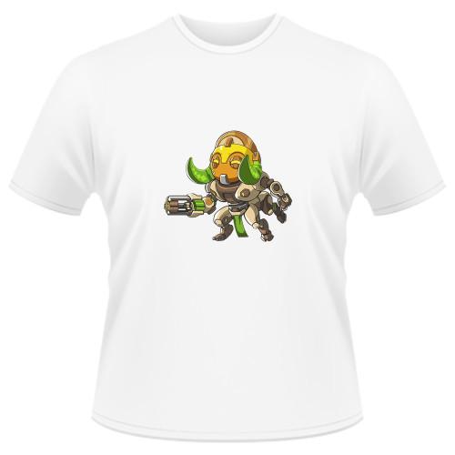 Tricou Overwatch Orisa Cute - SPRAY