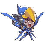 Tricou Overwatch Pharah Cute - SPRAY
