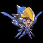 Tricou Overwatch Pharah Cute - SPRAY