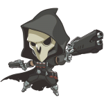 Tricou Overwatch Reaper Cute - SPRAY
