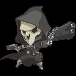 Tricou Overwatch Reaper Cute - SPRAY