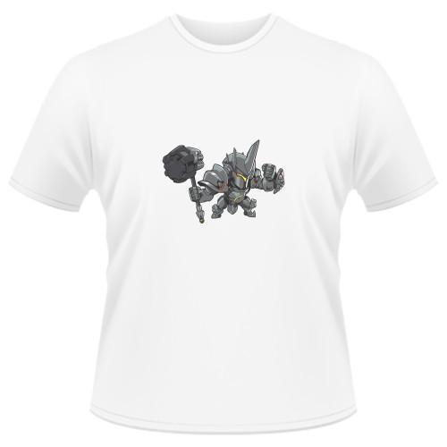 Tricou Overwatch Reinhardt Cute - SPRAY