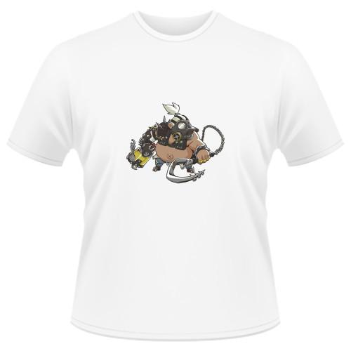Tricou Overwatch Roadhog Cute - SPRAY