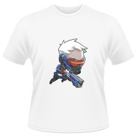 Tricou Overwatch Soldier 76 Cute - SPRAY