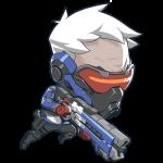 Tricou Overwatch Soldier 76 Cute - SPRAY