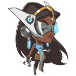 Tricou Overwatch Symmetra Cute - SPRAY