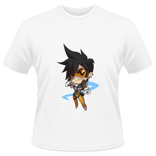 Tricou Overwatch Tracer Cute - SPRAY