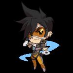 Tricou Overwatch Tracer Cute - SPRAY